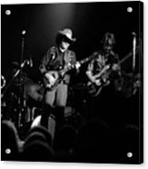 Marshall Tucker Winterland 1975 #12 Enhanced Bw Acrylic Print