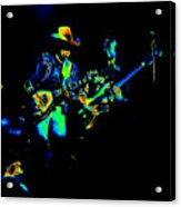 Marshall Tucker Winterland 1975 #14 Enhanced In Cosmicolors Acrylic Print