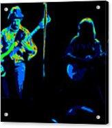 Marshall Tucker Winterland 1975 #18 Enhanced In Cosmicolors #2 Acrylic Print