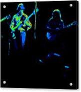 Marshall Tucker Winterland 1975 #18 Enhanced In Cosmicolors Acrylic Print