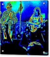 Marshall Tucker Winterland 1975 #18 In Special Cosmicolors Acrylic Print