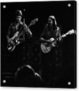 Marshall Tucker Winterland 1975 #36 Enhanced Bw Acrylic Print
