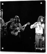 Marshall Tucker Winterland 1975 #7 Acrylic Print