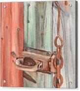 Marsha's Lock Acrylic Print