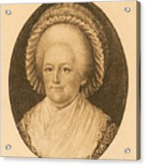 Martha Washington, American Patriot Acrylic Print