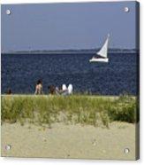 A Day At The Beach 2 - Martha's Vineyard Acrylic Print
