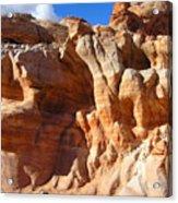 Martian Cliffs Acrylic Print