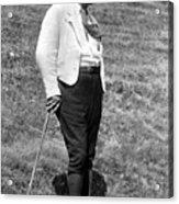 Martin Heidegger (1889-1976) Acrylic Print