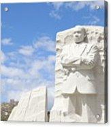 Martin Luther King Dc Memorial Acrylic Print
