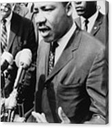 Martin Luther King, Jr. 1929-1968 Acrylic Print by Everett