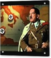Martin Wuttke As Adolf Hitler Number One Inglourious Basterds 2009 Color Added 2016 Acrylic Print