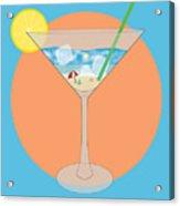 Martini Beach Acrylic Print