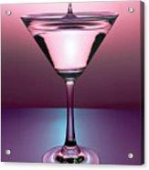 Martini Drop Acrylic Print