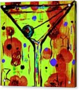 Martini Madness  Acrylic Print