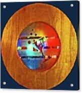 Martini Porthole Acrylic Print