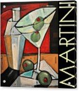Martini Poster Acrylic Print
