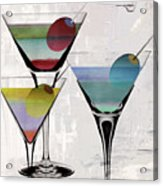 Martini Prism Acrylic Print