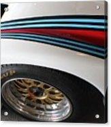 Martini Racing Lines Acrylic Print