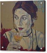 Martini Women Acrylic Print