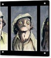 Marty Morph Acrylic Print