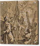 Martyrdom Of Saint Andrew Acrylic Print