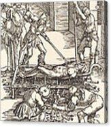Martyrdom Of Saint Lawrence Acrylic Print