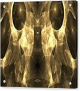 Marucii 168-03-13 Gold Mask Acrylic Print