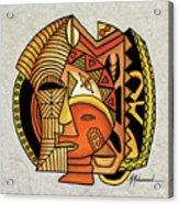 Maruvian Masks 1 Acrylic Print