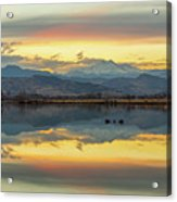 Marvelous Mccall Lake Reflections Acrylic Print