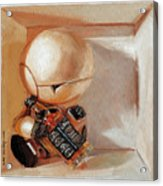Marvin, Paranoid Android In A Box Acrylic Print