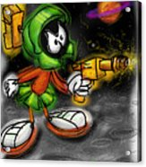 Marvin The Martian Acrylic Print by Russell Pierce