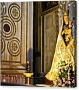Mary And Baby Jesus In Palermo Acrylic Print