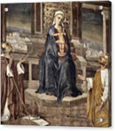 Mary And Baby Jesus Acrylic Print