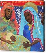 Mary Habe Boy Chile Acrylic Print