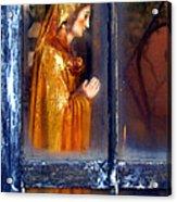 Mary In Prayer Acrylic Print