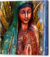 Mary In Repose Acrylic Print