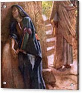 Mary Magdalene At The Sepulchre Acrylic Print