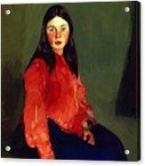 Mary Of Connemara 1913 Acrylic Print