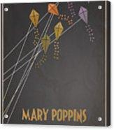 Mary Poppins Acrylic Print
