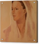 Mary The Handmaiden Of The Lord Acrylic Print