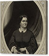 Mary Todd Lincoln, First Lady Acrylic Print