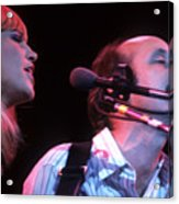 Mary Travers And Peter Yarrow Acrylic Print