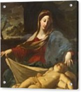 Mary With Child 1635 Acrylic Print