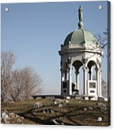 Maryland Monument At Antietam Acrylic Print
