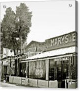 Mary's Bar Cerrillo Nm Acrylic Print