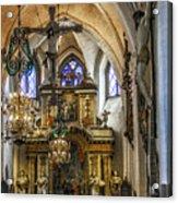 Mary's Church Acrylic Print