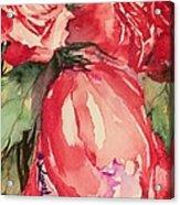 Ma's Roses 4 Acrylic Print