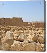 Masada II Acrylic Print