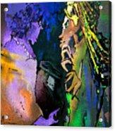 Masai Encounter Acrylic Print