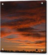 Masai Mara Sunset Acrylic Print